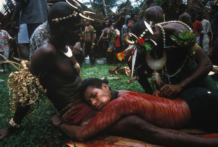 skin cutting for rites of manhood national geographic