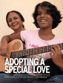 adopting